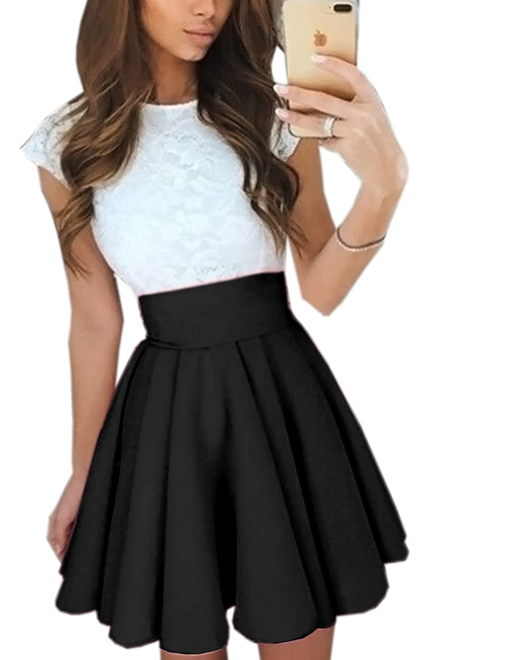 Plus Size Bubble Skirt Dress