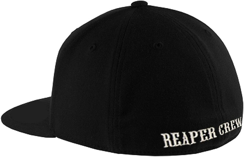 Reaper Crew Baseball Cap Sons Of Anarchy TV Show SOA Hat Biker Flexfit Fitted US