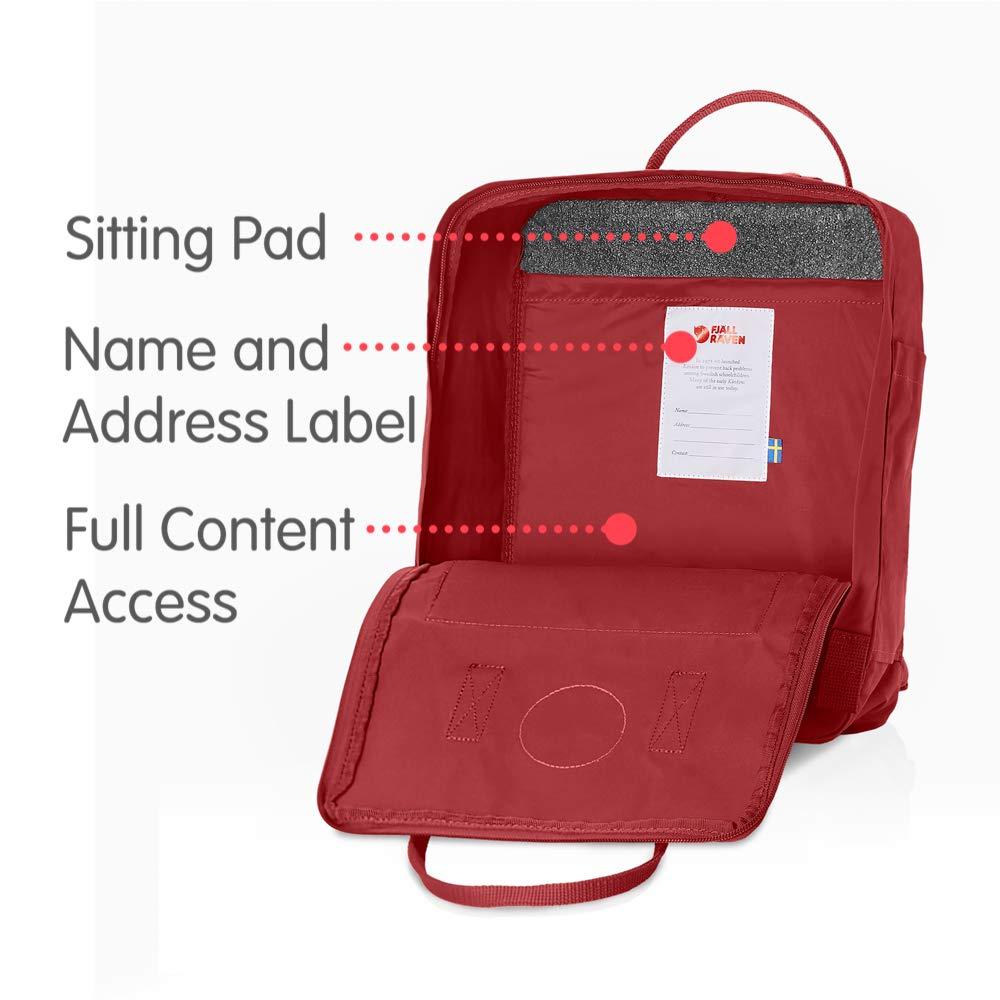 Fjallraven - Kanken Classic Backpack for Everyday, Deep Red by Fjallraven (Image #5)