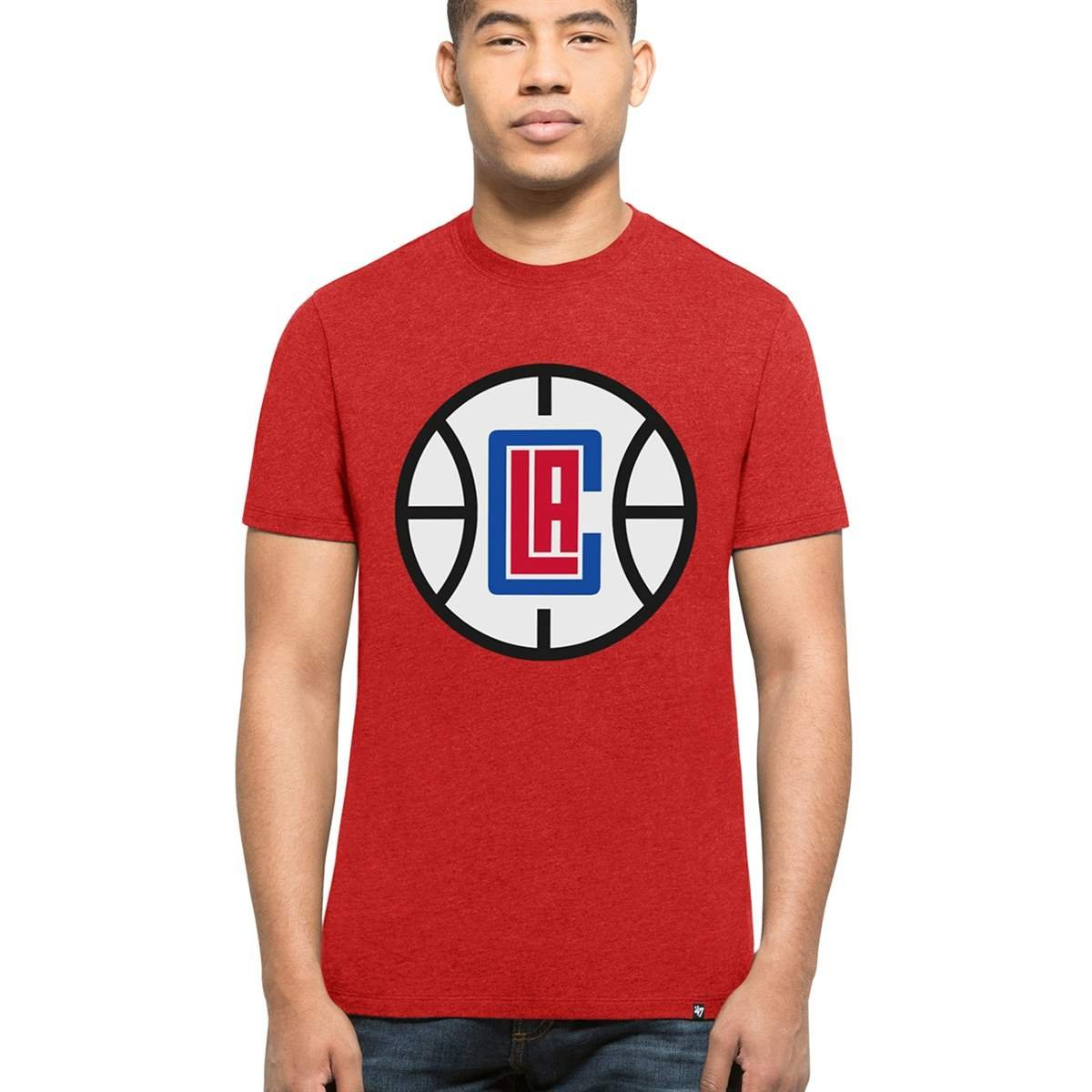 '47 Brand Los Angeles Clippers Club NBA T-Shirt Rot