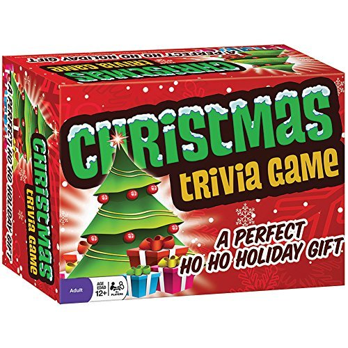 Classic Christmas Trivia Family Party Game - Holiday Themed Guessing Game (Christmas Themed Groups For Games)