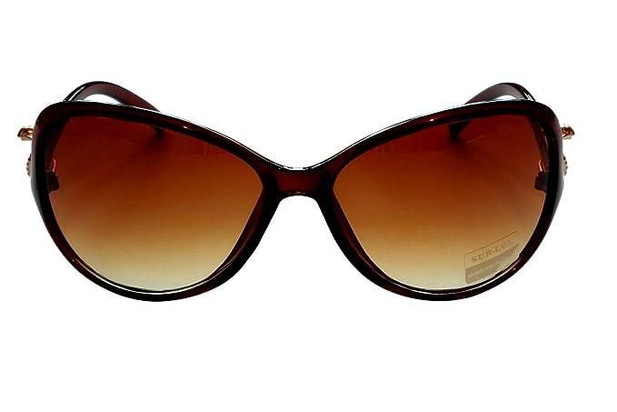 Nuevas damas última gato ojo estilo gafas de sol anti ...