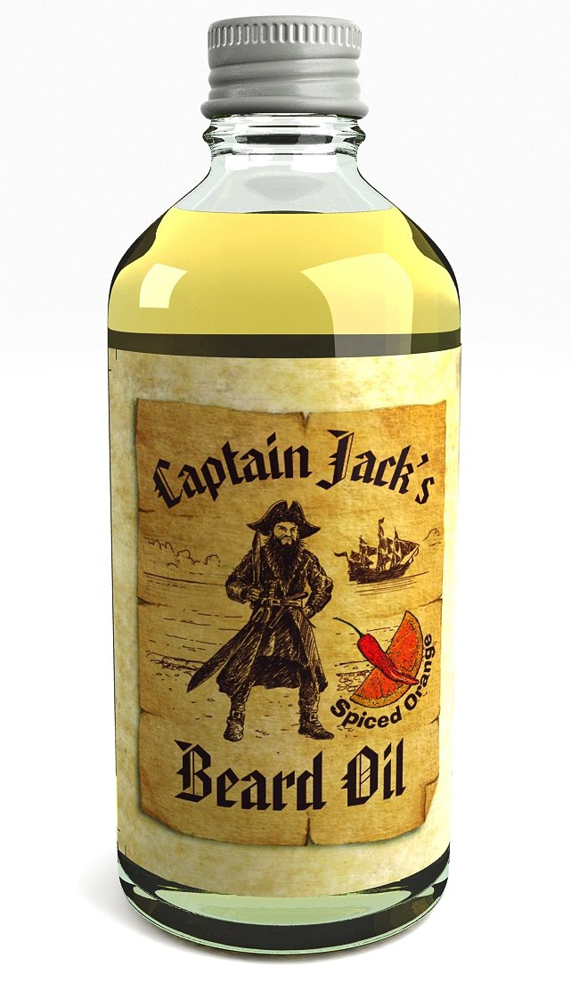 Captain Jack's Pirate Beard Oil Conditioner - 100ml - Limited Edition Spiced Orange Fragrance VI