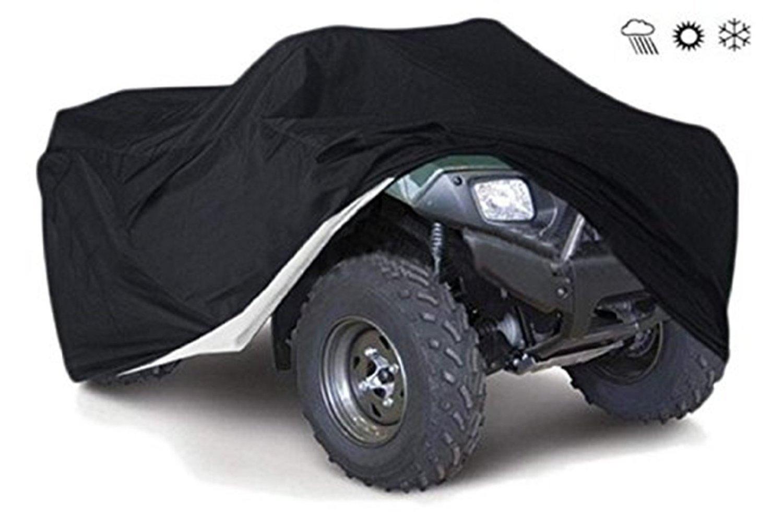Funda Protector para Moto Impermeable Cubierta Universal para Todo Tipo de Clima Cubierta de Motocicleta Duradera Anti UV para Honda, Polaris, Yamaha, ...