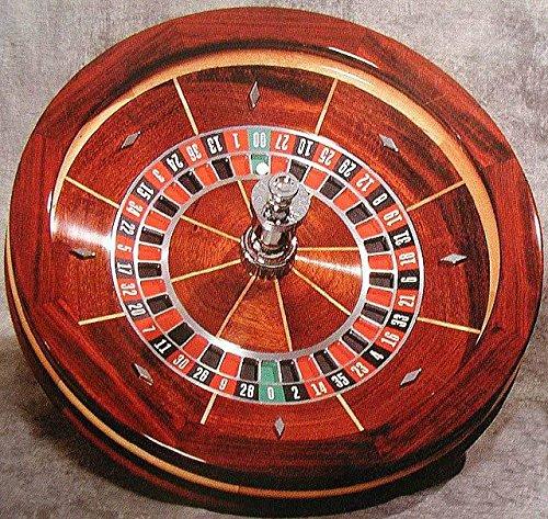 Professional Wood Roulette Wheel - 25''