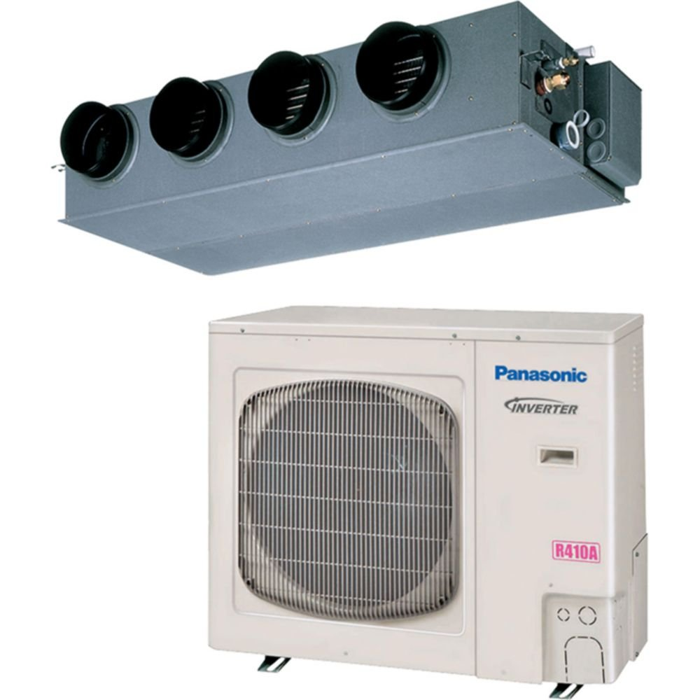 Panasonic 36PEF1U6-31,200 BTU 13.9 SEER Concealed Duct Mini Split Air Conditioner Heat Pump 208-230V