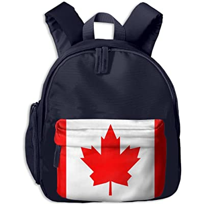 Canada Flag Cute Kids Backpack Toddler Backpack School Bag Best For Preschool