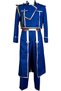 Amazon.com: CosplayLife Fullmetal Alchemist Coronel Roy ...