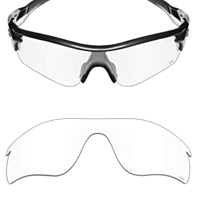 ef3e987f7652 Mryok+ Polarized Replacement Lenses for Oakley RadarLock Path - HD Clear