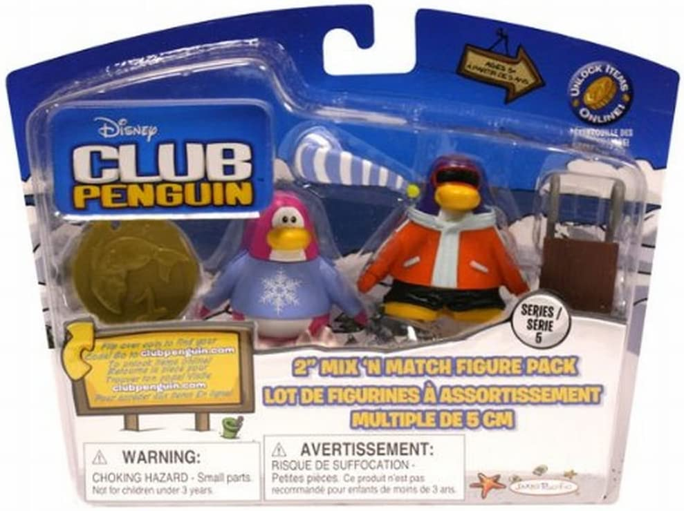 Disney Club Penguin 2 Inch Mini Figure Spaceman with Helmet