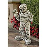 Design Toscano Wrapped Too Tight Mummy Garden Statue – Cute Halloween Decoration For Sale