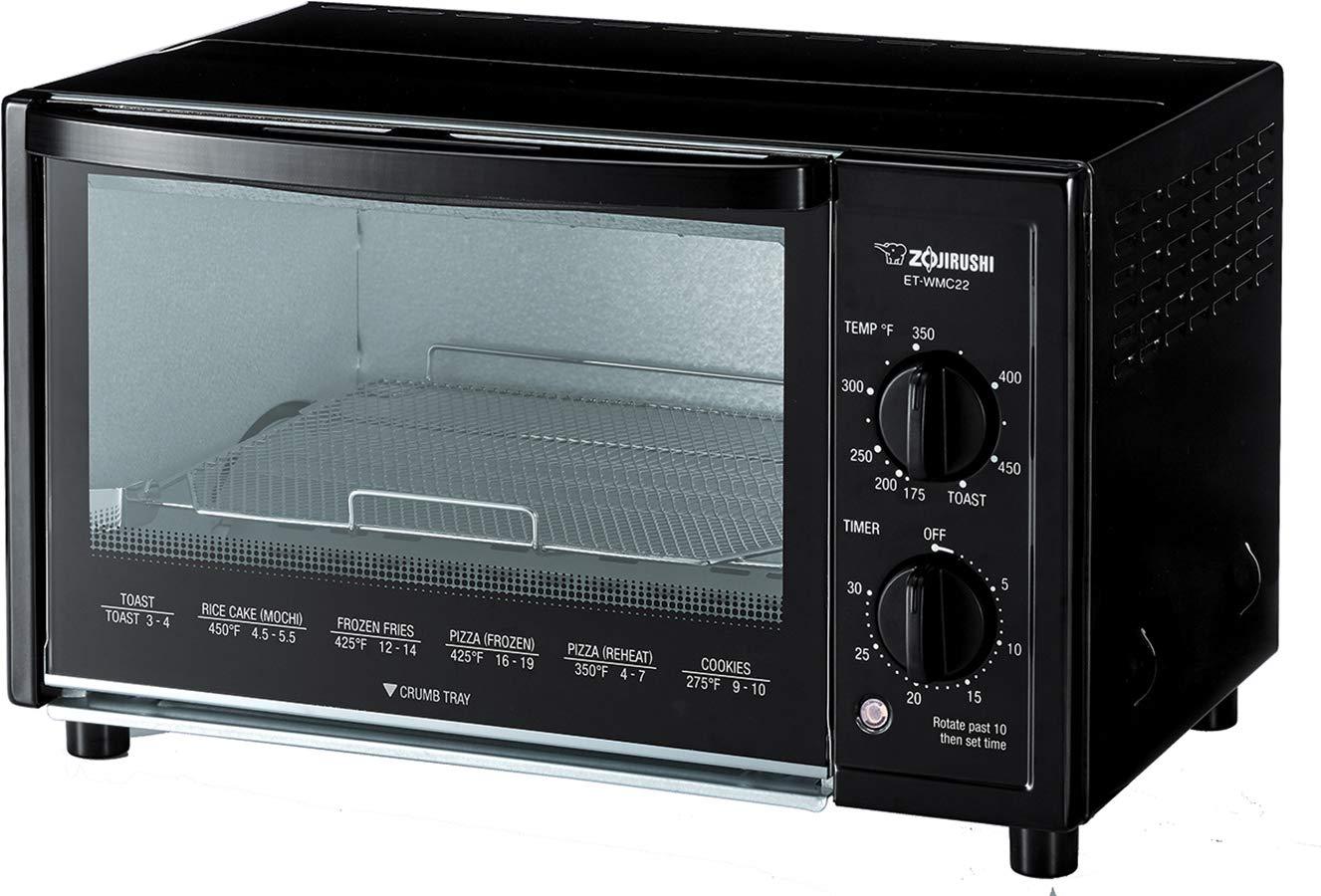 Zojirushi ET-WMC22 Toaster Oven, Black by Zojirushi