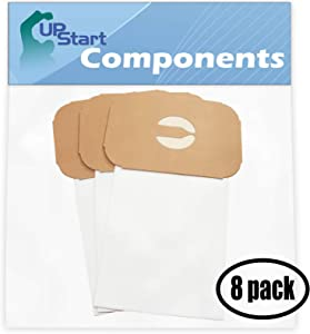 24 Replacement Style C bag for Electrolux, Aerus - Compatible with Electrolux Model G, Electrolux Ambassador, Electrolux Model L, Electrolux Super J, Electrolux Silverado, Electrolux Diamond Jubilee, Aerus Lux Legacy, Electrolux Model E, Electrolux 1521