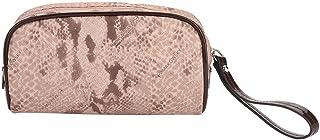 Trousse de Toilette Multifonction Sac Cosmétique Pochette de Maquillage Portable Étanche Voyage Organisateur Suspendu Sac pour Femmes Filles(Pink)