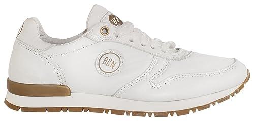 BCN Brand 950 Verano Boda Fiesta, Zapatillas para Mujer, Blanco (White) 37 EU: Amazon.es: Zapatos y complementos
