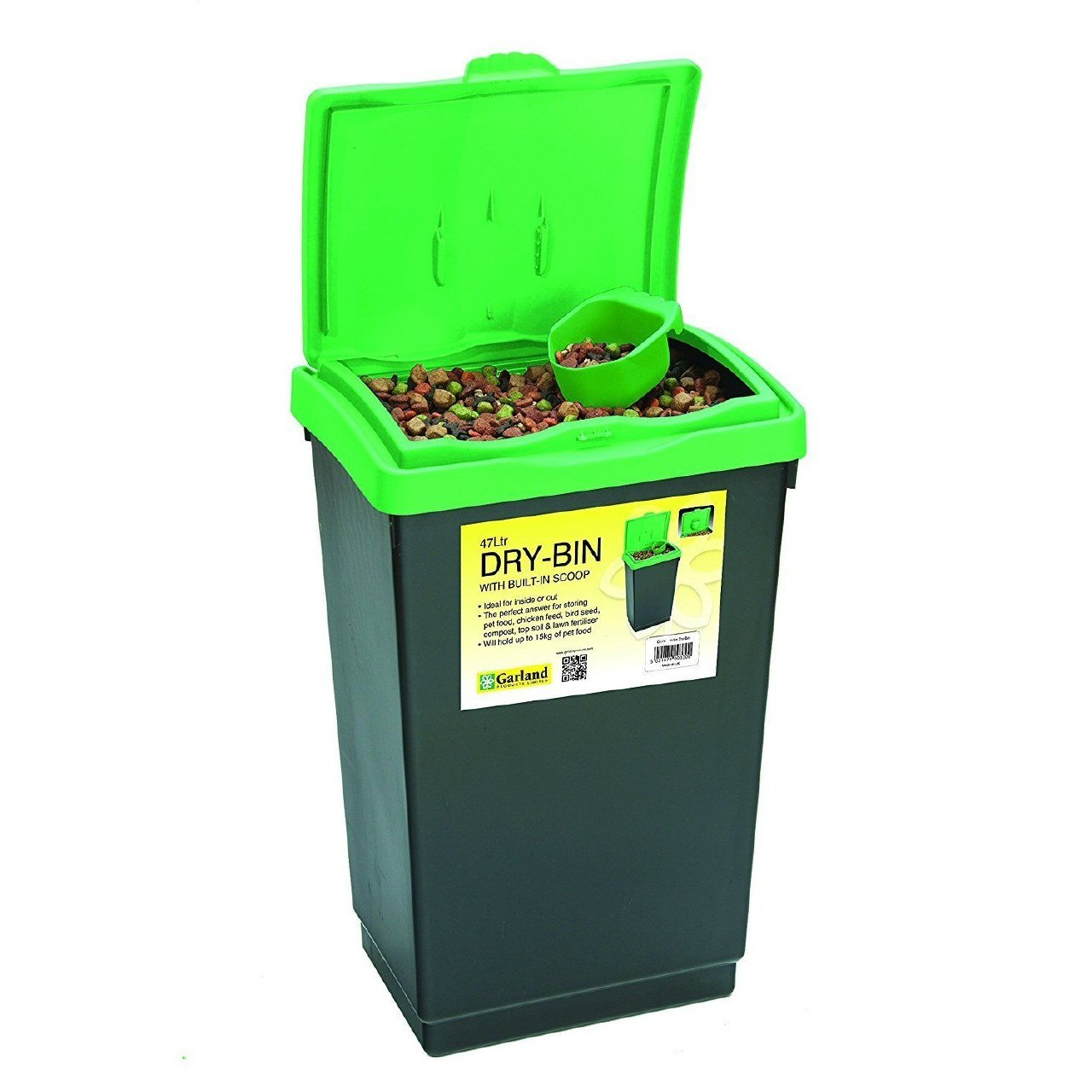 Tierra Garden GP174 Dry-Bin with Lid, 12.5-Gallon