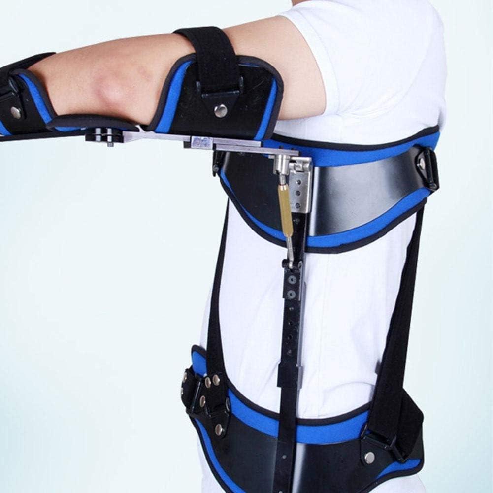 NADAEN Secuestro de Hombro Férula Fija de Codo Férula de fijación Ajustable para prótesis de Miembro postoperatoria