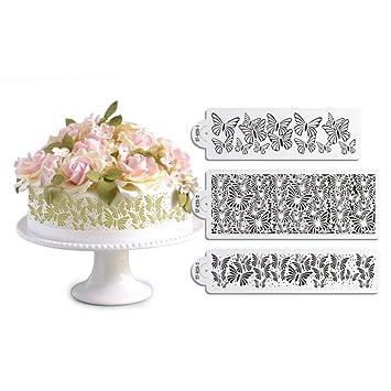 Kuchen Schablone Set Kuchen Grenze Dekorieren Schablone