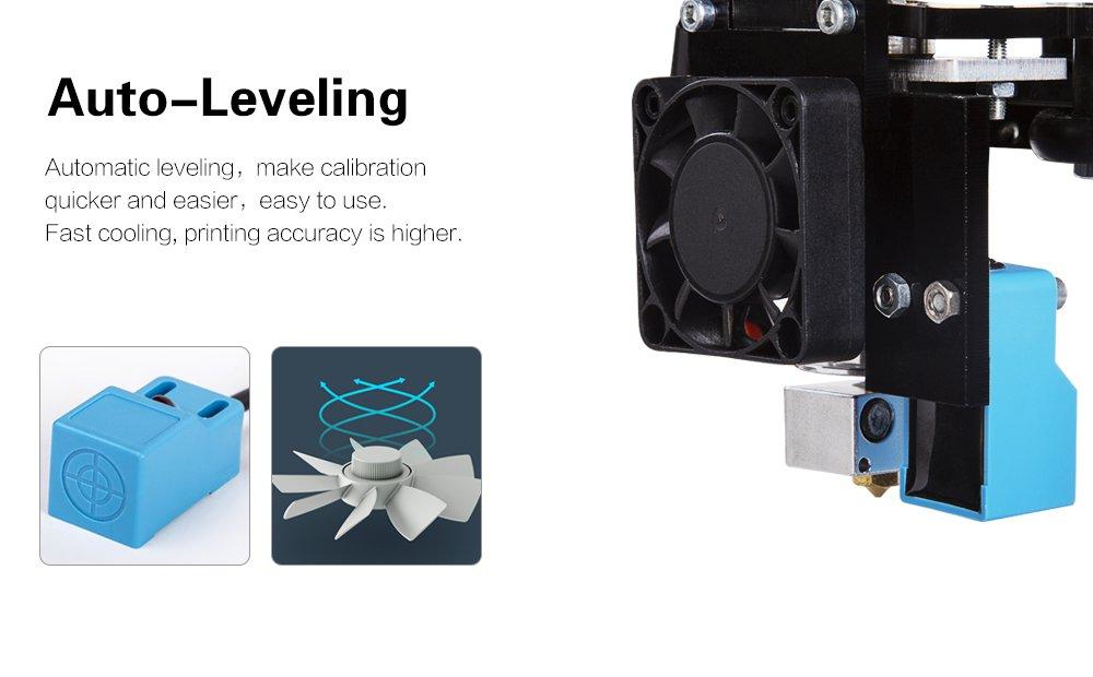 Impresora 3D Plus Prusa i3, kit dual DIY nuzzle, pantalla táctil ...
