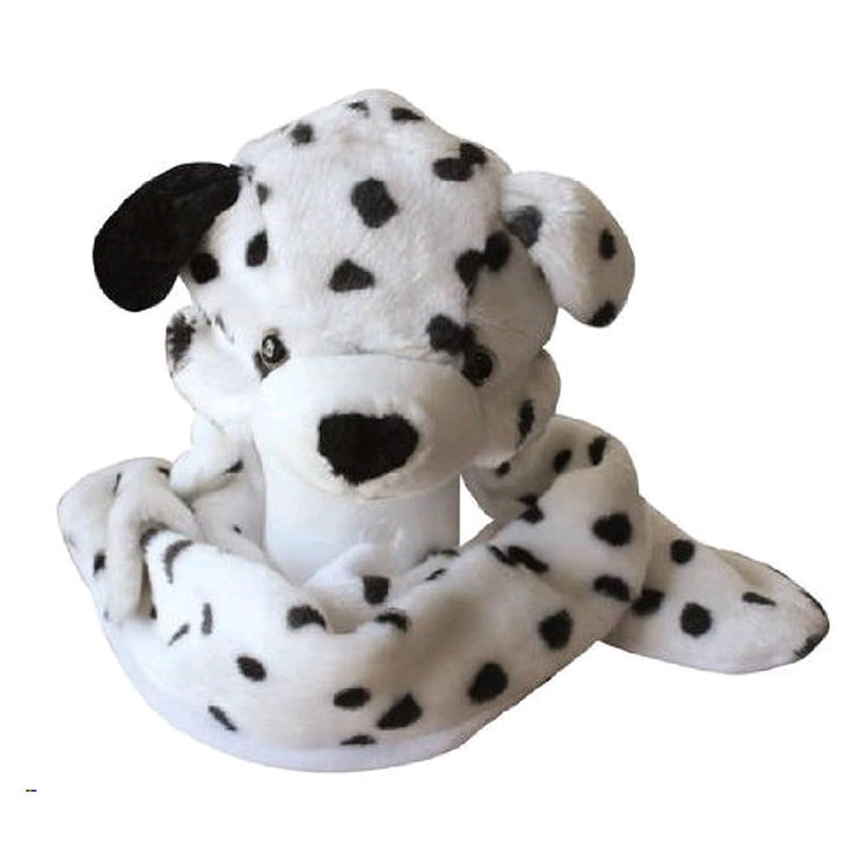 amazoncom plush animal hat w builtin mittens (dalmatian) clothing -