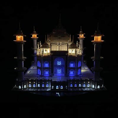 RAVPump LED Lighting Kit for Taj Mahal Blocks Model - LED Light Set Compatible with Lego 10256 ( Lego Set not Included ): Toys & Games