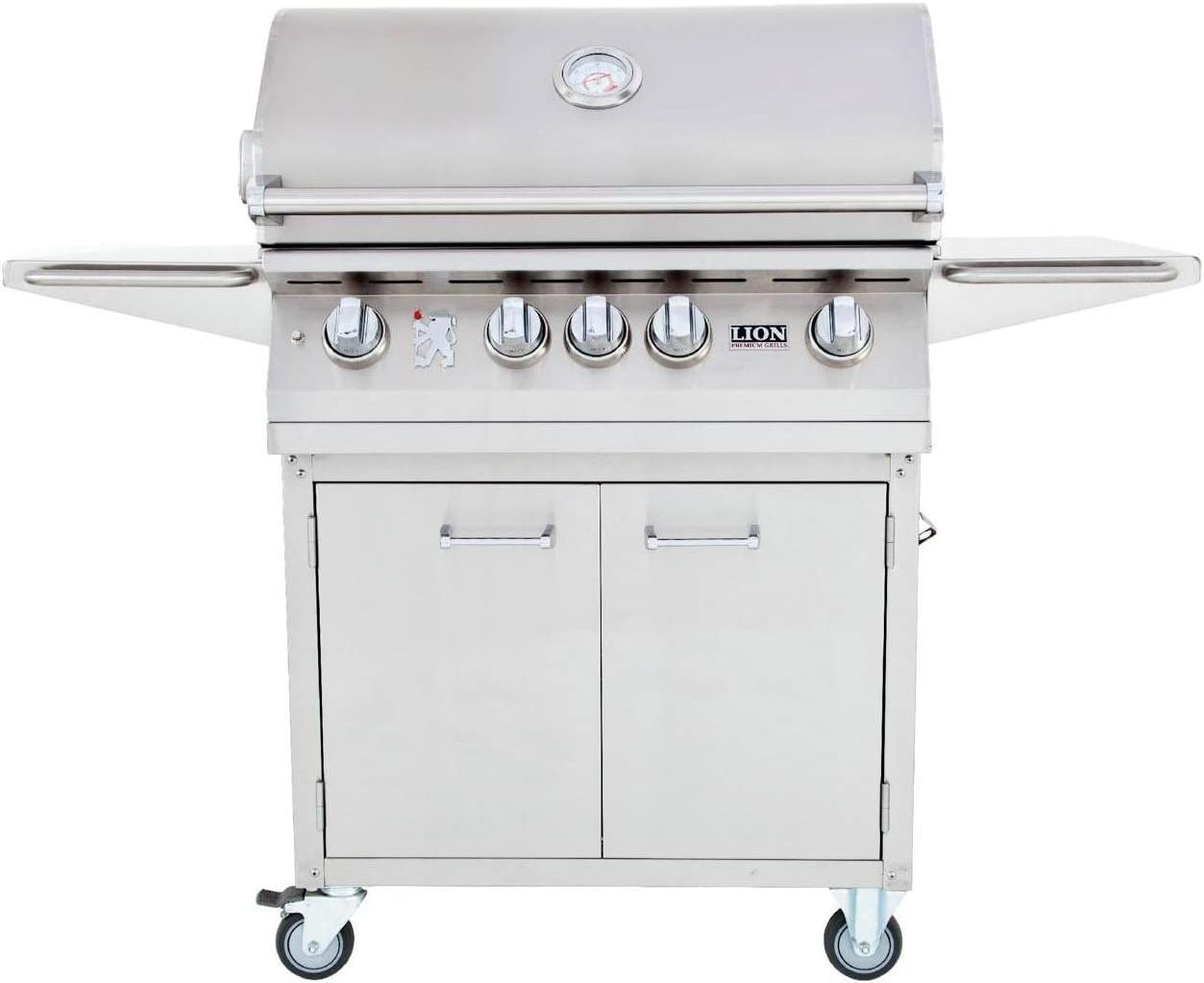 Lion 32-Inch Gas Grill - L75000 Stainless Steel Freestanding Natural Gas