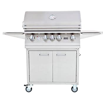 LION PREMIUM GRILLS 4-Burner 647sq. in Gas Grill