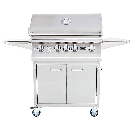 Amazon.com: Lion Gas Grill – l75000 Acero Inoxidable de 32 ...