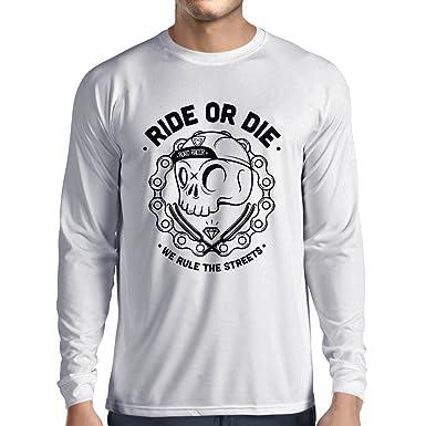 Amazon.com  lepni.me Long Sleeve t Shirt Men Ride or Die  Clothing 99b62a693