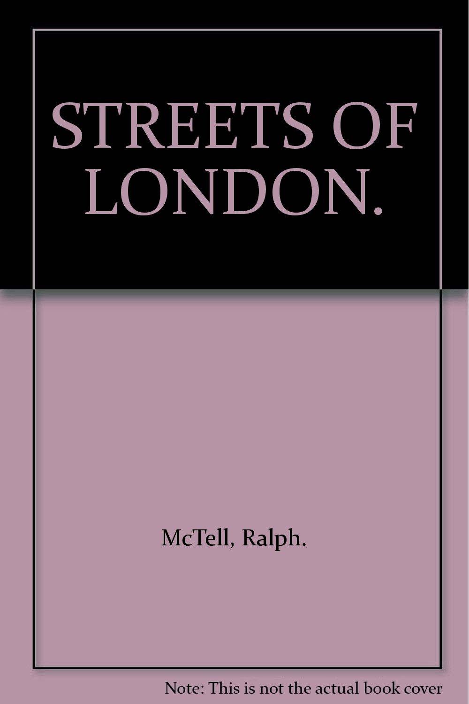 STREETS OF LONDON. ebook