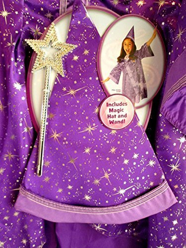 [Disney® Sofia the First Magic Spells Robe & Wand] (Sofia The First Dress Up Costume)