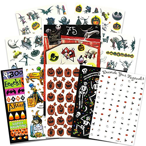 Nightmare Before Christmas Temporary Tattoos and Stickers Pa