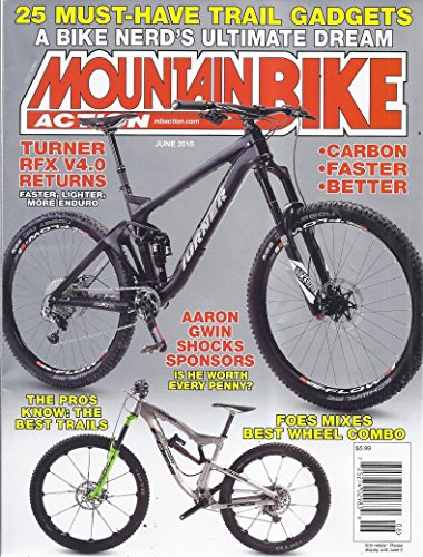 - Mountain Bike Action Magazine (June 2016)
