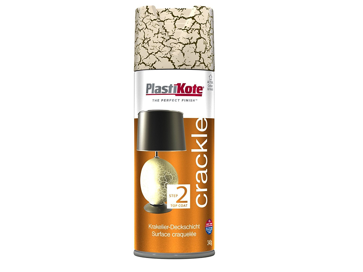 Plasti-kote 475 400ml Crackle Touch Spray Paint - Heritage Gold PKT475-TB B001CMUD3Y