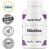 Biotina 10000mcg. Vitaminas de Biotina para fortalecer y evitar la caída del cabello. Biotina