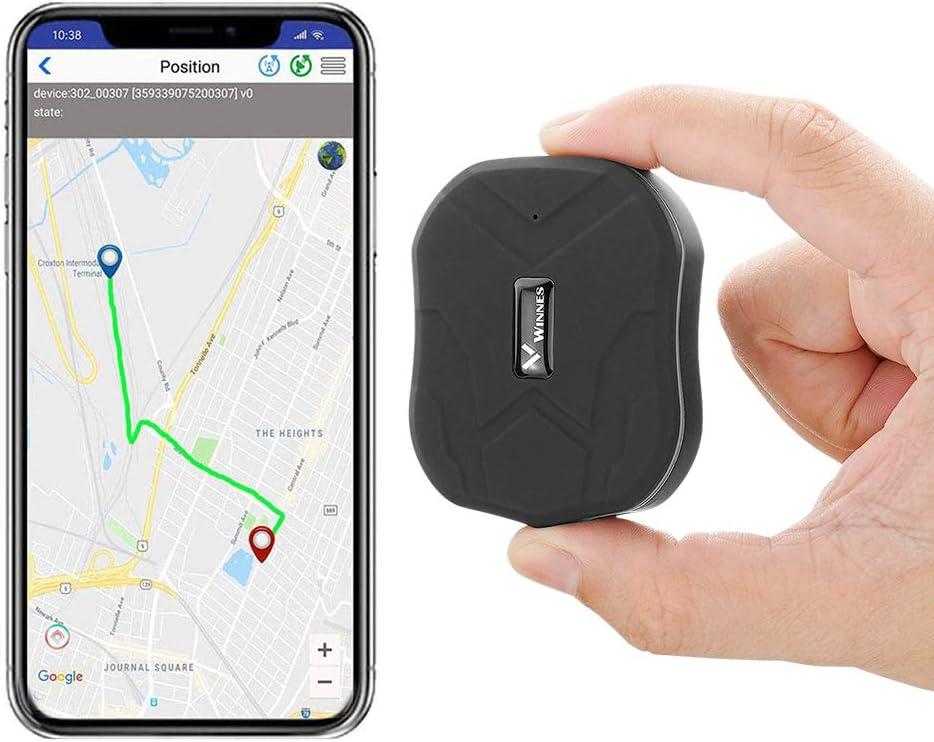 Localizador GPS,Rastreador GPS Magnético Mini TK905 1500mah Dispositivo Antirrobo Impermeable Ubicación GPS Antipérdida Seguimiento en Tiempo Real