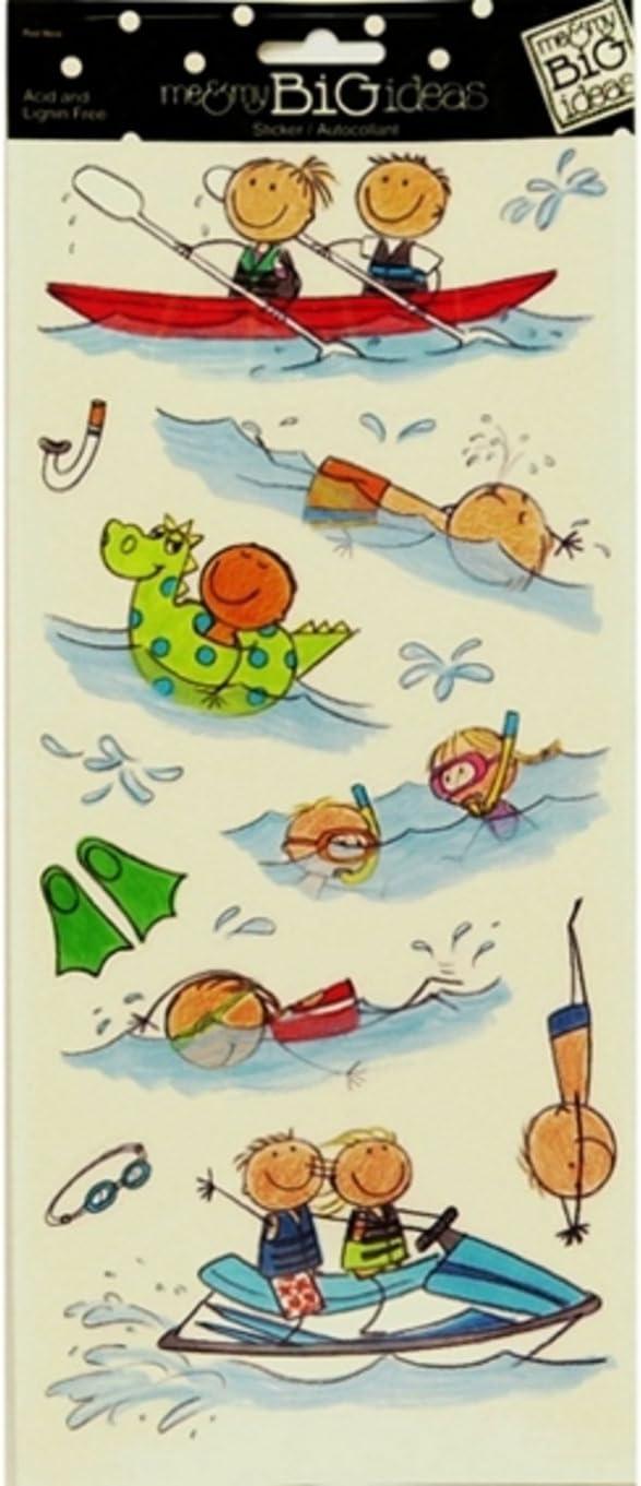 Me /& My Big Ideas Water Sports Stickers