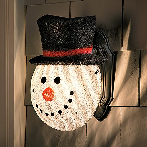 Snowman Porch Light Cover in Florida - 7