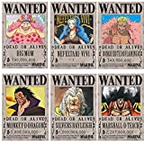 Big Fun One Piece Wanted Posters