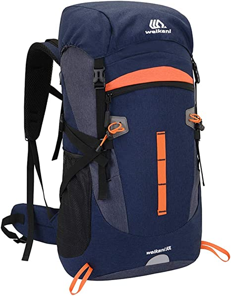 Sipobuy 50L Mochila De Senderismo Bolsa De Escalada, Impermeable Ligera Mochila De Camping De Trekking, Mochila De Hombro De Viaje Al Aire Libre Bolsa ...