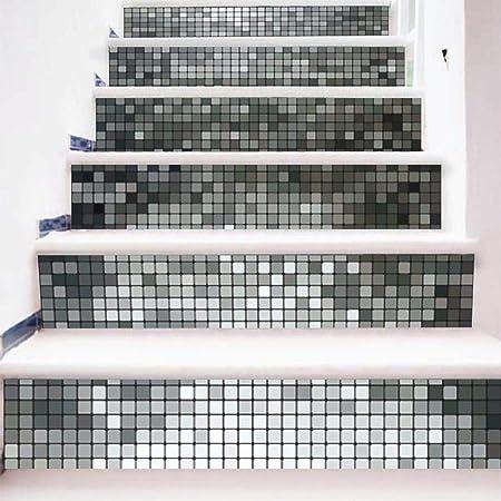 serliy DIY Steps Sticker Abnehmbarer Treppenaufkleber Stickerei ...
