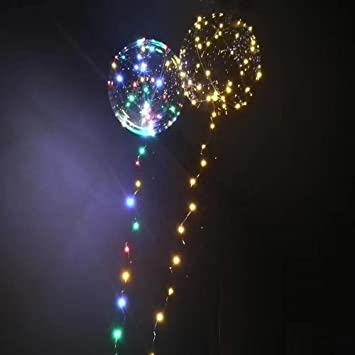 Amazon com: 1PC LED Balloons Light Up Balloons Flashing Light