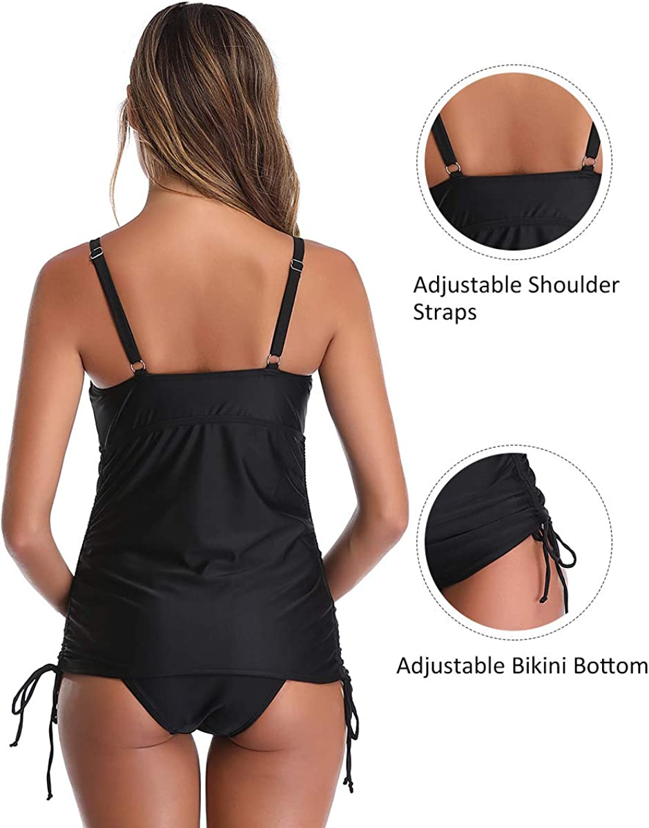 Women Maternity Swimsuit Plus Size Two Piece Pregnant Bathing Suits