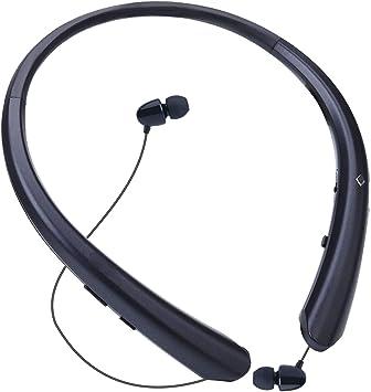 HWZDQLK Auriculares Bluetooth Auriculares inalámbricos con banda para el cuello Auriculares retráctiles Audífonos deportivos con cancelación de ruido Estéreo con micrófono para otros dispositivos habi: Amazon.es: Electrónica