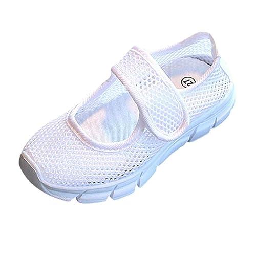 K-Youth Zapatos Niña Zapatillas Deportivas Transpirables para Niños y Niñas Zapatillas Antideslizantes De Malla