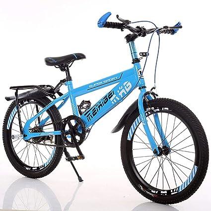 Fenfen Bicicleta de 22 Pulgadas para niños 7-15 años Bicicletas para niños Acero de