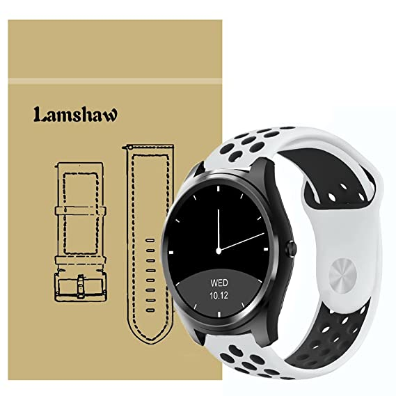 Amazon.com: for Diggro DI03 Bands, Lamshaw Silicone Sport ...