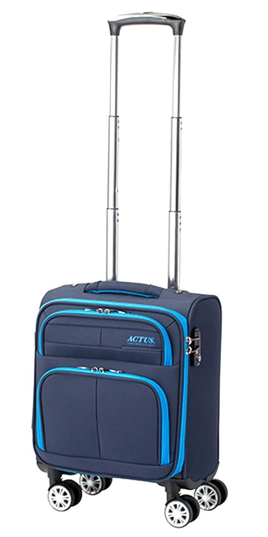 アクタス ACTUS スーツケース 74-50762 モンタナ MONTANA 18L ネイビー 代引き不可 ネイビー[bc-1] B07V6XGDGP
