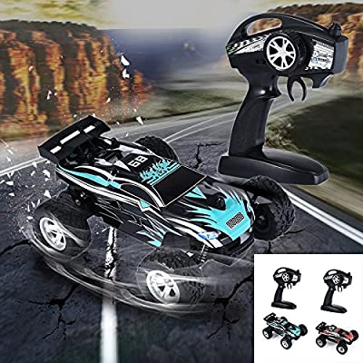 Remote Control Off Road Truck Race Vehicle Model Electric 1:24 RC Car K24-1 2.4G 15KM/H High Speed Children Model Toy