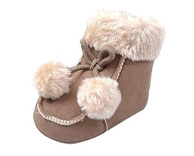finest selection 17161 57f04 HAPPY CHERRY Babyschuhe Winter Stiefel Kids Unisex Mädchen ...